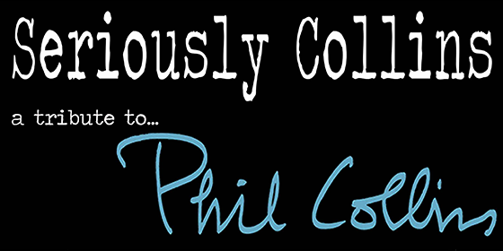 Seriously Collins Tribute Phil Collins Glastonbudget Tribute Band Music Festival Logo