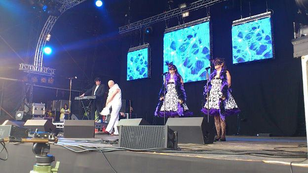 Ultimate Erasure ErasureTribute Band Glastonbudget Tribute Band Music Festival pic1