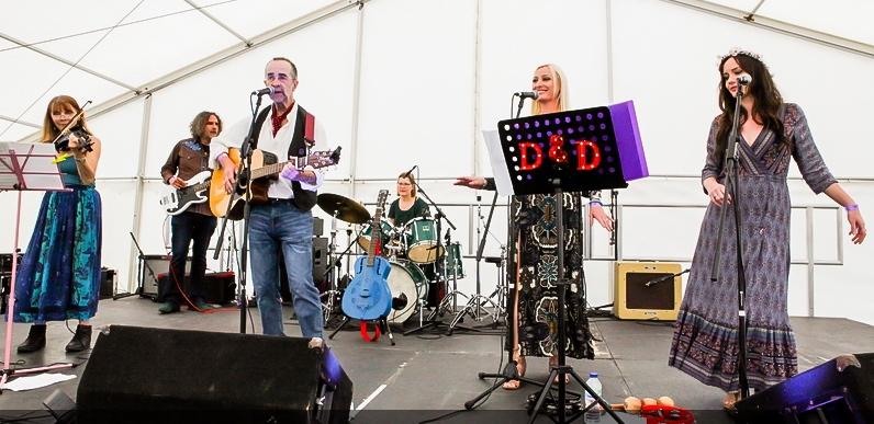 Dust and Debris Glastonbudget Music Festival