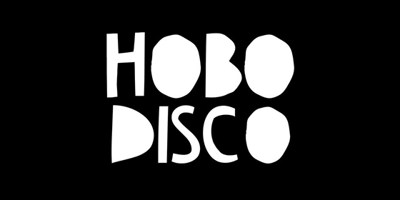 logo Hobo Disco Original Band Glastonbudget Tribute Band Music Festival logo