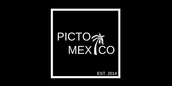 logo PICTO MEXICO Original Band Glastonbudget Tribute Band Music Festival logo