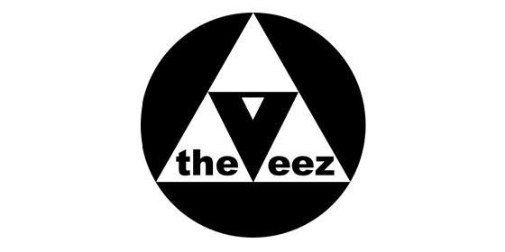logo THE VEEZ Original Band Glastonbudget Tribute Band Music Festival logo