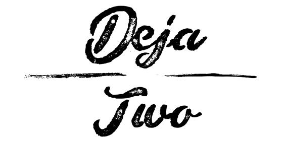 logo Deja Two Original Band Glastonbudget Tribute Band Music Festival logo