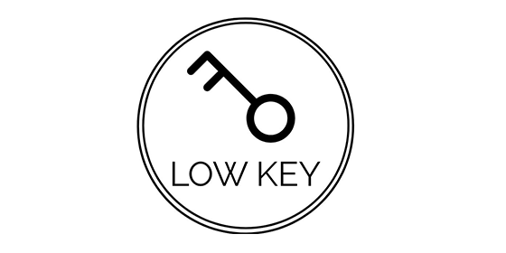 logo LOW KEY Original Band Glastonbudget Tribute Band Music Festival logo