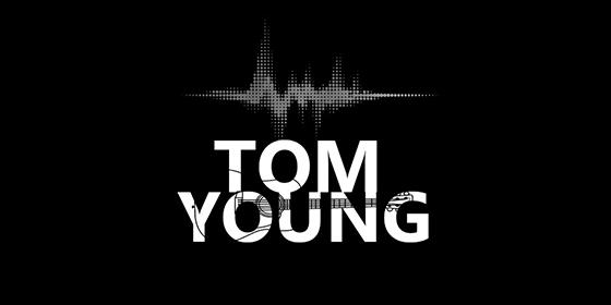 logo TOM YOUNG Original Band Glastonbudget Tribute Band Music Festival logo