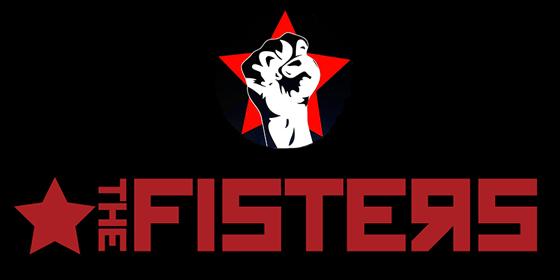 logo The Fisters Original Band Glastonbudget Tribute Band Music Festival logo