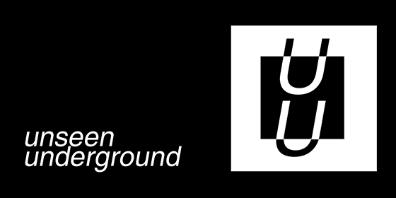 logo Unseen Underground Original Band Glastonbudget Tribute Band Music Festival logo