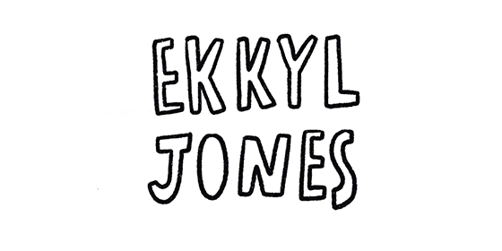 logo Ekkyl Jones Original Band Glastonbudget Tribute Band Music Festival logo