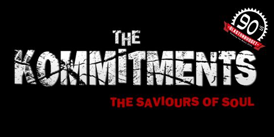 The Kommitments Tribute The Commitments Glastonbudget Tribute Band Festival Decades logo