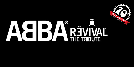 Abba Revivial Tribute Band Glastonbudget Tribute Band Festival Decades logo