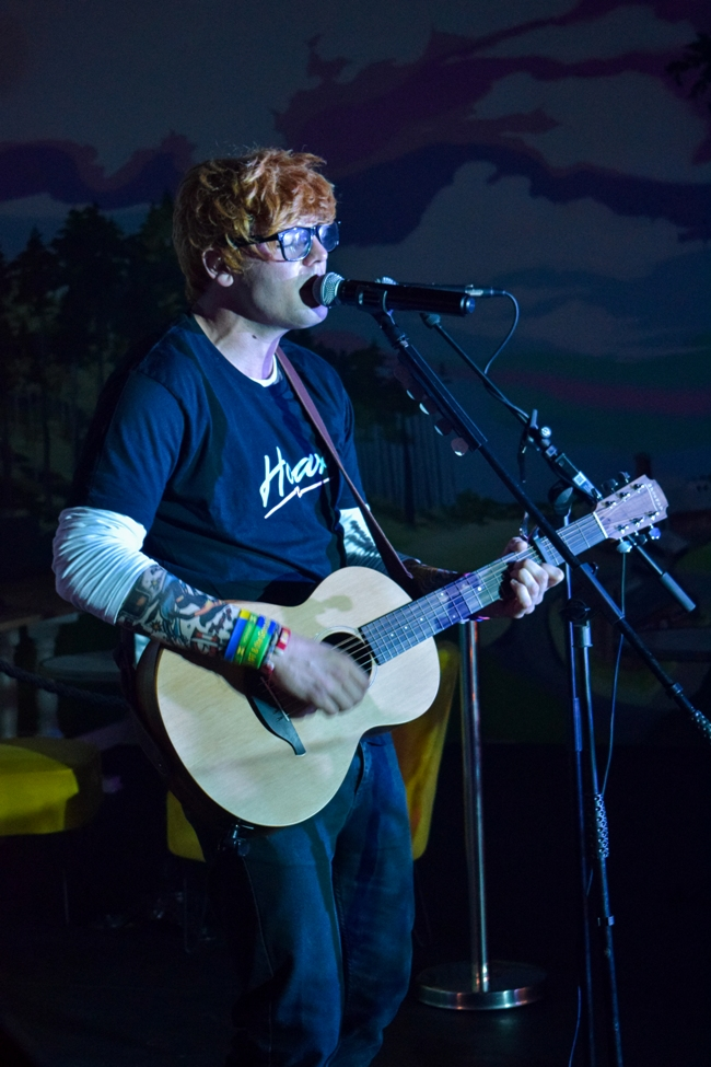 Ed Sheeran Daniel EastTribute Band Glastonbudget Tribute Band Festival pic 1